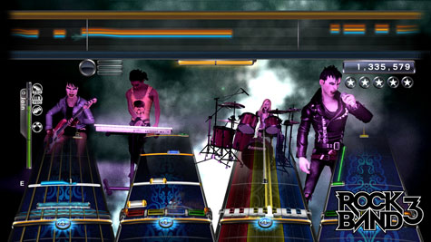 rb3 band screen4 New game breakthrough  'Rock Band 3'