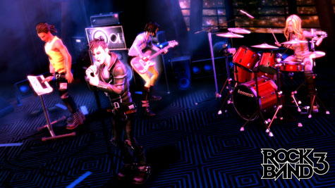rb3 band wo gameplay2 New game breakthrough  'Rock Band 3'