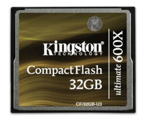 Kingston Compact Flash Ultimate give you 600x transfer speed 1