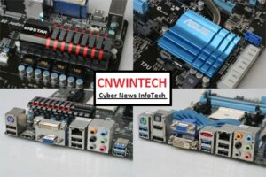 CnwinTech Motherboard with Socket LM1 ASUS F1A75 and Biostar TA75A+ 3