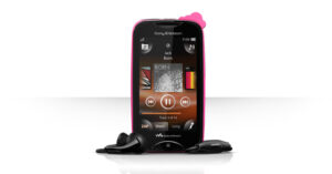 Sony Ericsson Mix Walkman, a Mobile Phone with Zappin Button 1