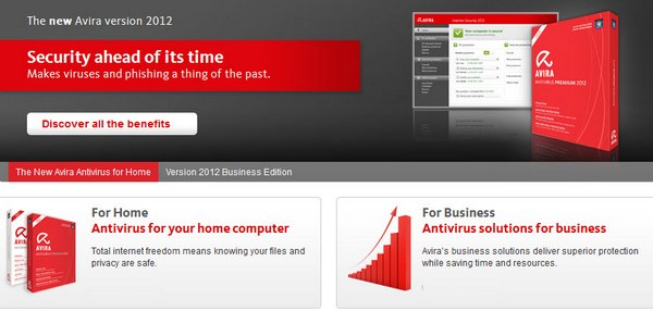 Simple, Smart and Strong from Avira 2012 1