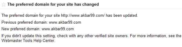 Canonical URL: How To Set Preffered Domain www or non www 3