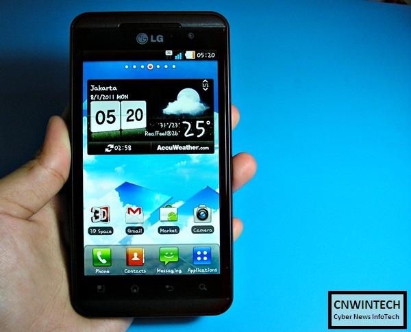 Converting Game through 3D Game Converter On LG Optimus 3D 1
