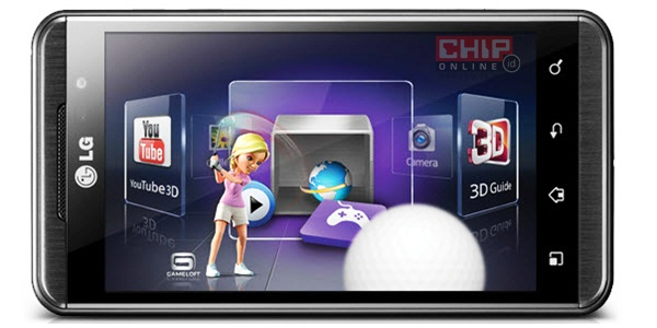 Converting Game through 3D Game Converter On LG Optimus 3D 2