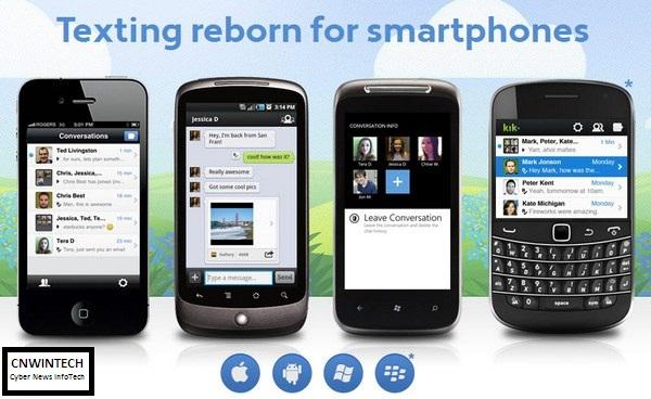 Cross Platform Chatting with KIK Messenger 1