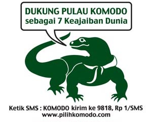 Help Komodo Island for Becoming the New 7 Wonders in World 2