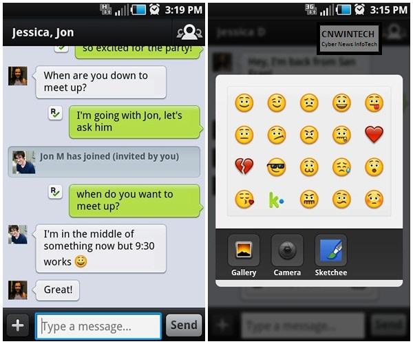 Cross Platform Chatting with KIK Messenger » CnwinTech