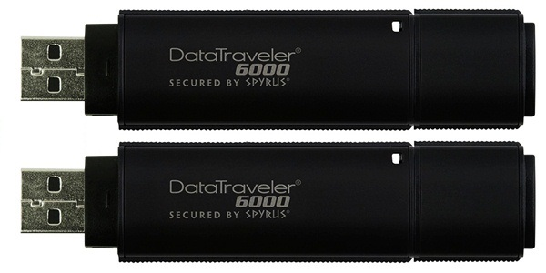 Ultra-Secure DataTraveler 6000 USB Flash Drive from Kingston 2
