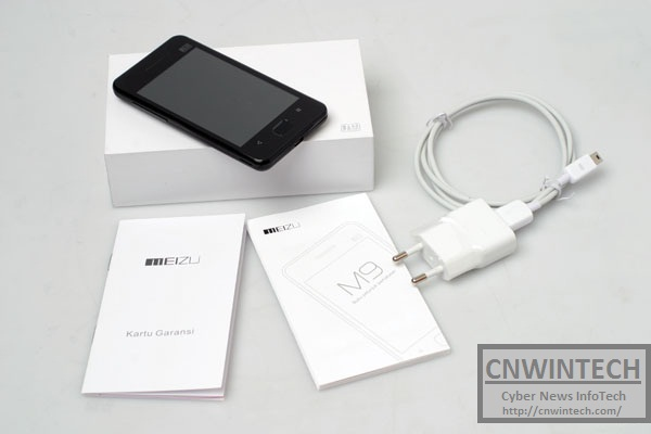 Meizu M9, Smartphone from China with Froyo Android Operating System Modification 2