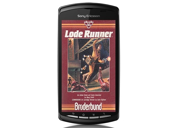 Lode Runner Game Available Exclusively at Xperia PLAY 1