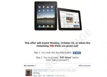 CnwinTech Watch out, Free iPad Bid , turns out a Trap Click! 1