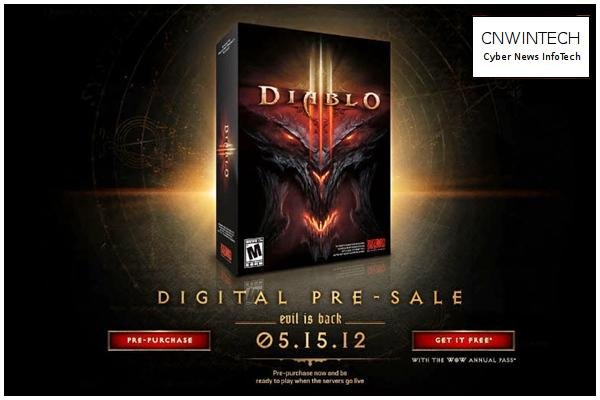 Blizzard will Launching Diablo III on May 15 6