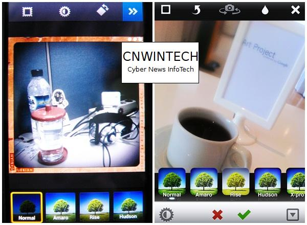 CnwinTech Instagram Android Apple Filter Comparison of Instagram Application on Apple and Android Devices