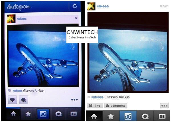 CnwinTech Instagram Android Apple Home Comparison of Instagram Application on Apple and Android Devices