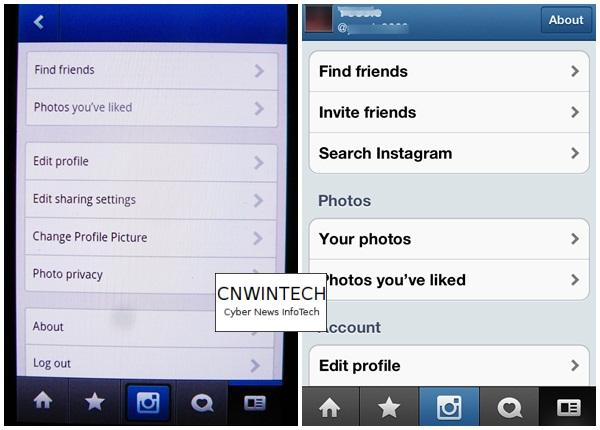 CnwinTech Instagram Android Apple Setting Comparison of Instagram Application on Apple and Android Devices