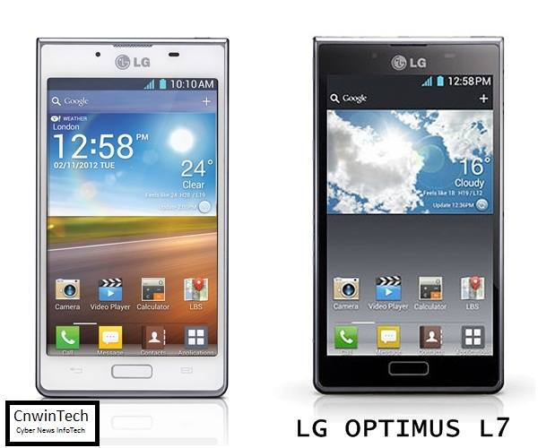 LG Optimus L7, Beautiful and Thin 1