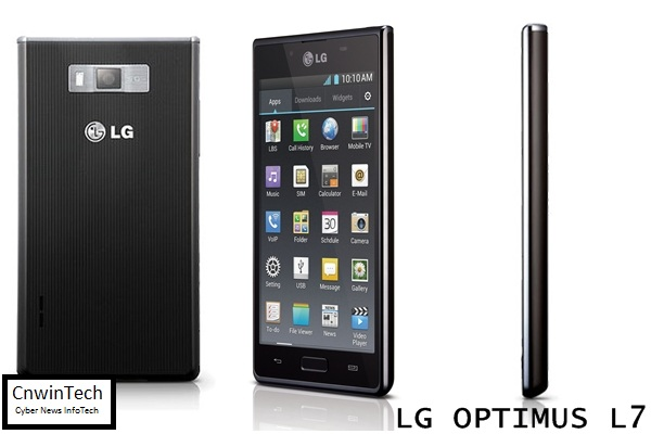 LG Optimus L7, Beautiful and Thin 2