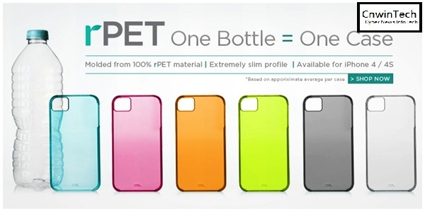 Mobile iPhone Casing from Case-Mate Made from Recycled Plastic 1