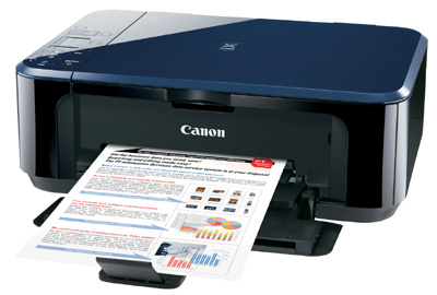 Canon PIXMA Ink Efficient E500 Performance Review, Printer with Ink Efficient Features 1