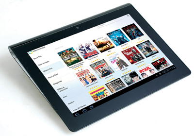 Sony Tablet S Performance Review, Look Different 1
