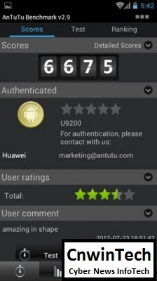 Full Performance Review: Huawei Ascend P1 (U9200), Thin Body with High-Performance 57