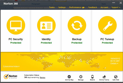 Norton 360 Version 6.0 Performance Review, Protection Inside and Outside 1