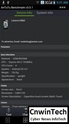 Full Performance Review: Lenovo K860, Cheap Quadcore, Rich Feature 31