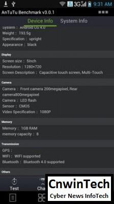 Full Performance Review: Lenovo K860, Cheap Quadcore, Rich Feature 30
